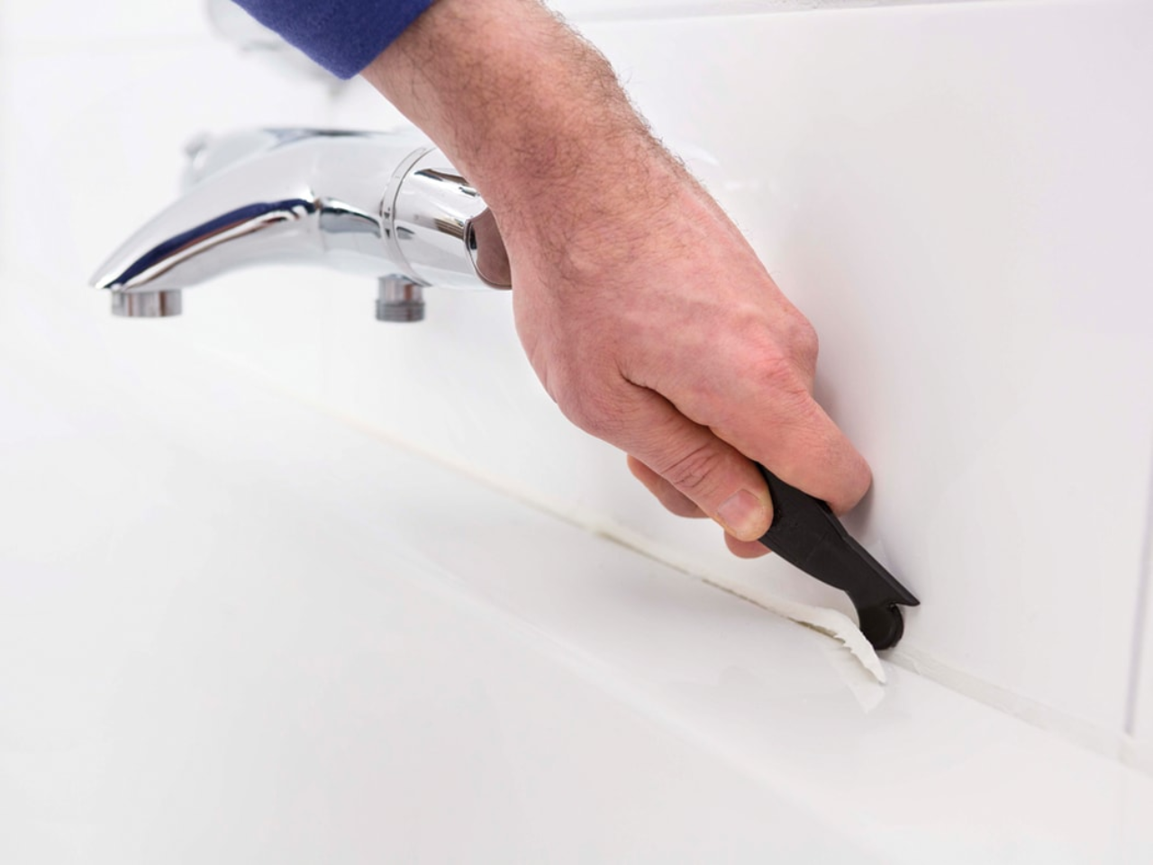 Kit Verwijderen Badkamer : Badkamer bad verwijderen ontzagwekkende kit verwijderen