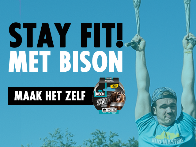 Stay fit! Met Bison