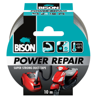 Bison Power Repair Grijs Rol 10 m NL/FR