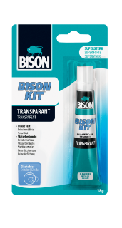Bison Kit® Transparant Kaart 18 g NL/FR